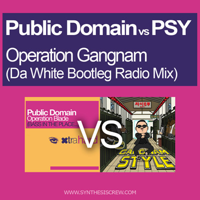 Public Domain vs PSY - Operation Gangnam (Da White Bootleg Radio Mix)