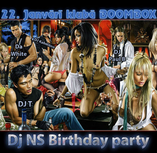 DJ NS Birthday Party