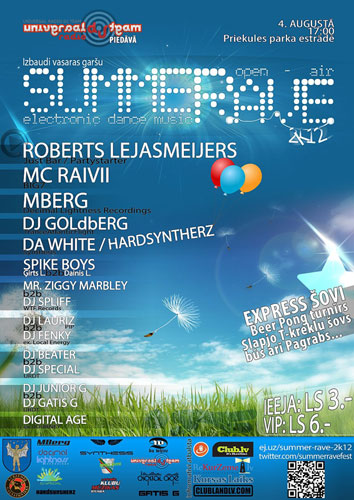 Summer Rave Open-Air 2k12