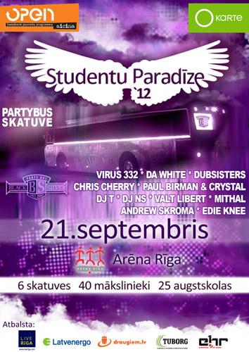 Studentu Paradīze '12 - Partybus Stage