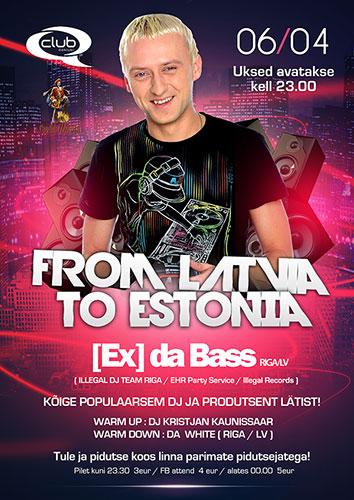 From LATVIA To ESTONIA
