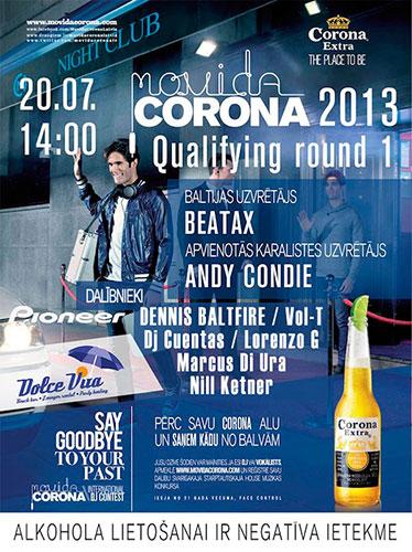Movida Corona 2013 Qualifying Round 1